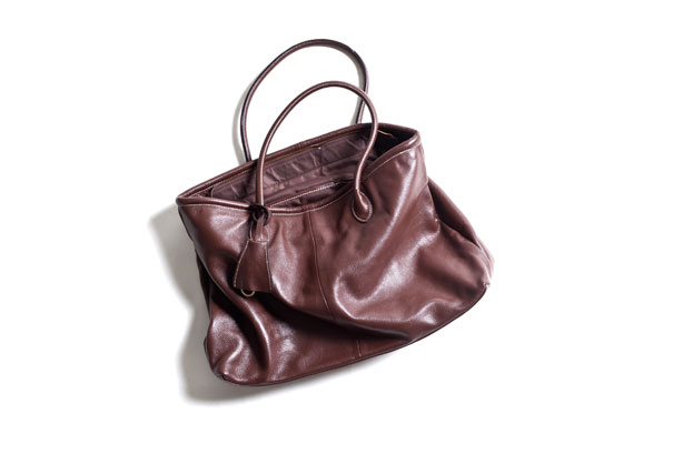 Leather Tote Bag : 10,500yen