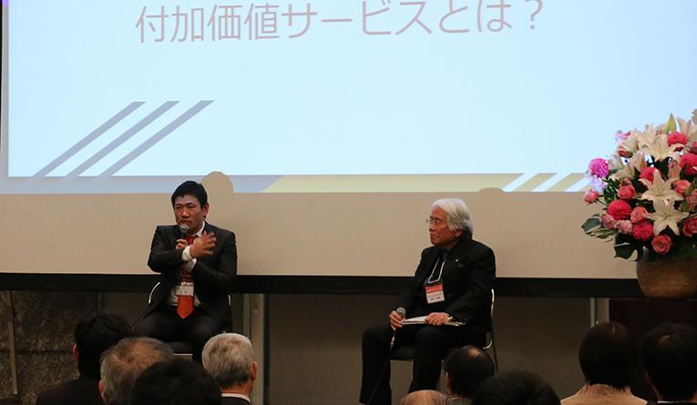 堀鉄平氏、高井法博氏によるトークセッション