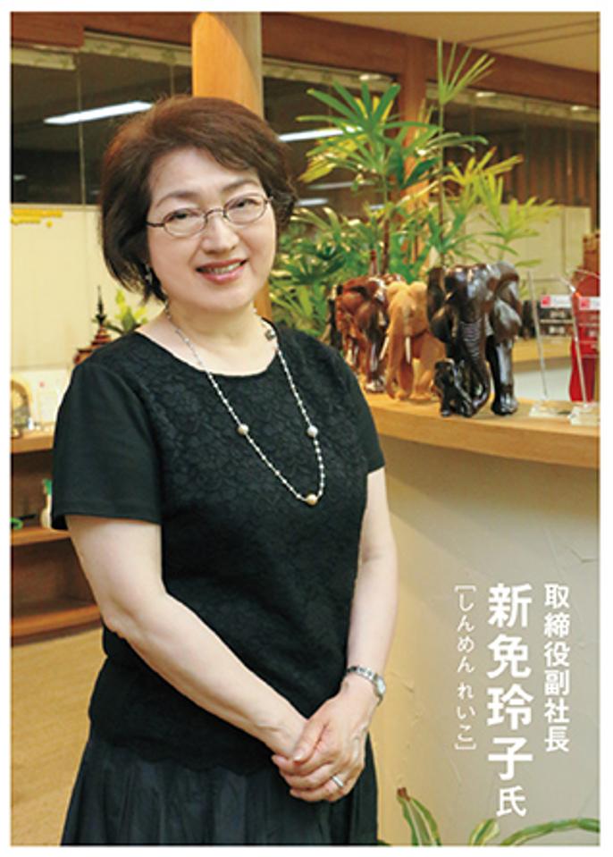 アクロエストテクノロジー株式会社取締役副社長新免玲子氏