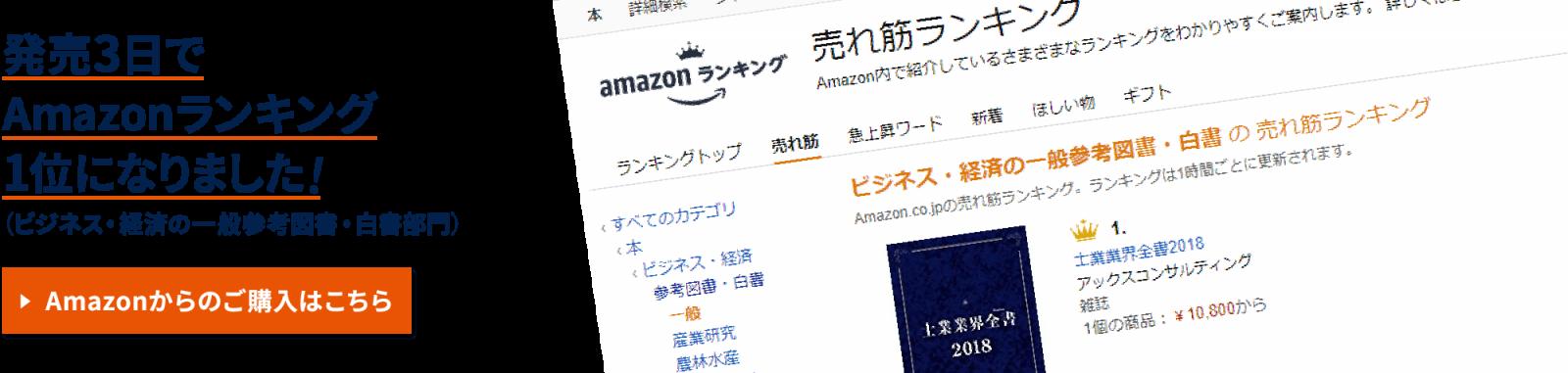発売3日でAmazonランキング1位になりました!