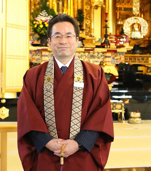 築地本願寺 代表役員 宗務長 安永 雄玄様