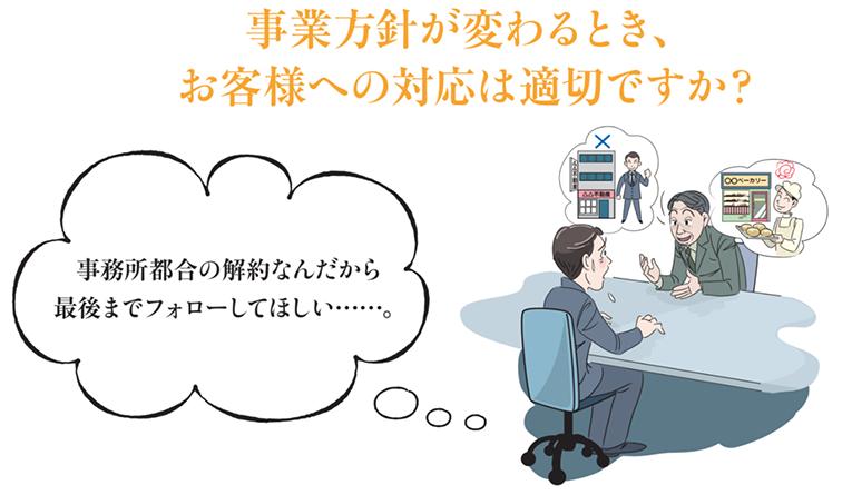 メイン画像:お客様との面談頻度は契約道理ですか?
