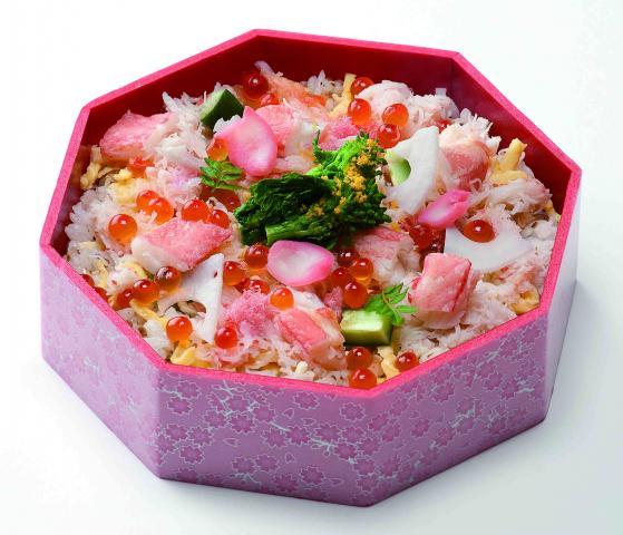 ひな祭り特別企画!雛ちらし寿司(2月26日まで予約受付)