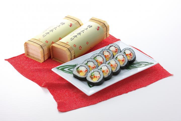 特上かに太巻寿司
