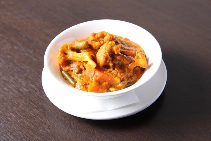 ミックス野菜のカレー(Mixed vegetable curry)