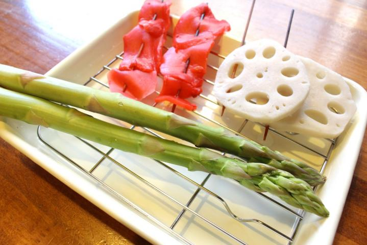 野菜系盛合せ6本
