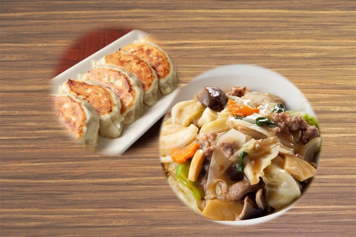 回鍋肉餃子(3個)弁当