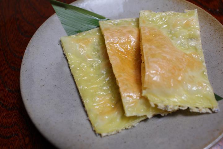 タタミイワシのチーズ焼き