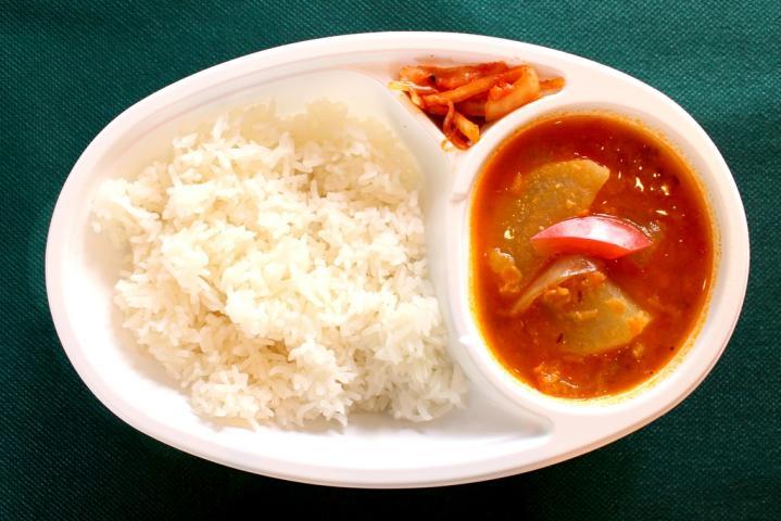 サンバールカレー(野菜入り豆)