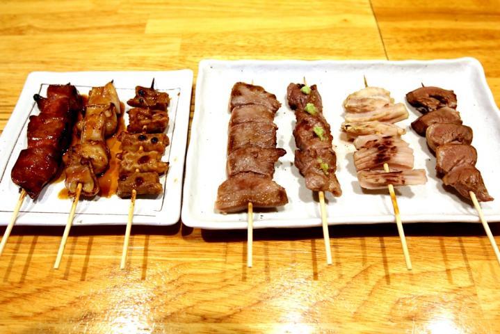 豚もつ串焼き5本盛