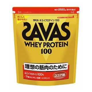 ザバス ホエイプロテイン100 ココア味 120食分 (CZ7429) プロテイン SAVAS