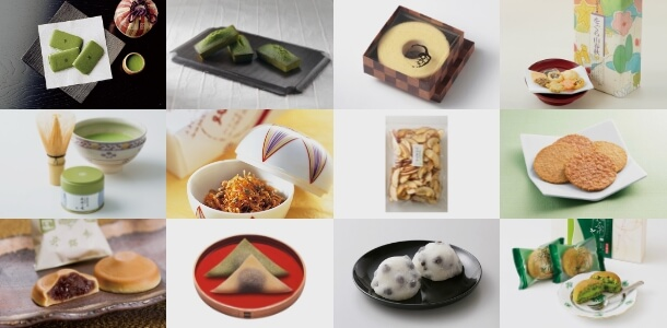 Kyoto – Top 12 best-selling items at food hall on the basement floor