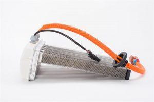 BorgWarnerのHEV/BEV向け新開発高電圧PTCヒーターの写真