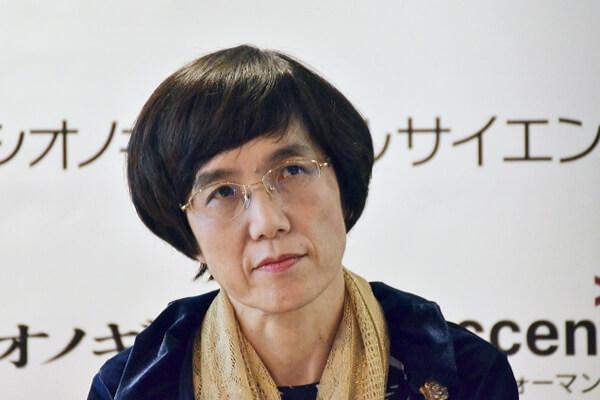 塩野義製薬の澤田拓子・取締役上席執行役員の写真