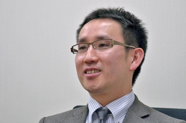 アイ・エム・エス・ジャパンの松井信智氏の写真