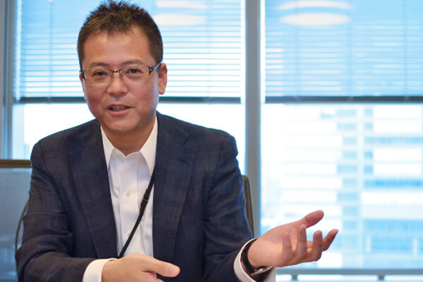 メディデータ・ソリューションズの代表取締役・山本武氏の写真