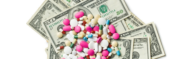 pills on american dollars
