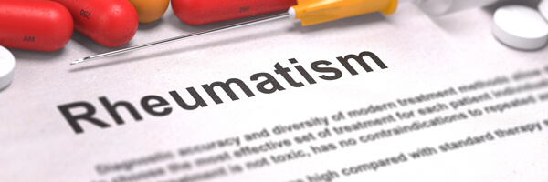 Diagnosis - Rheumatism. Medical Concept. 3D Render.