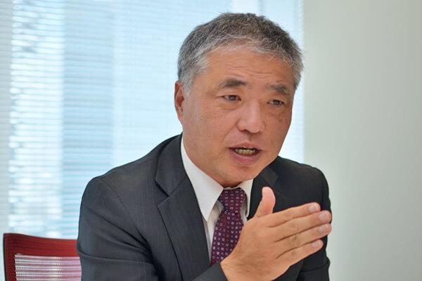 中外製薬研究本部創薬化学研究部長の飯倉仁さん
