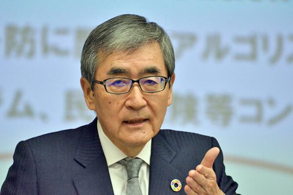 エーザイの内藤晴夫・代表執行役CEO