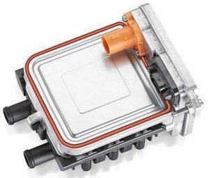 EberspächerのBEV向け第3世代高電圧PTCヒーターの写真