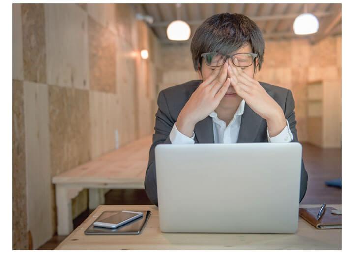 NGパターン3 「この人が苦手だから辞めたい…」という理由で転職を考える会社員の図