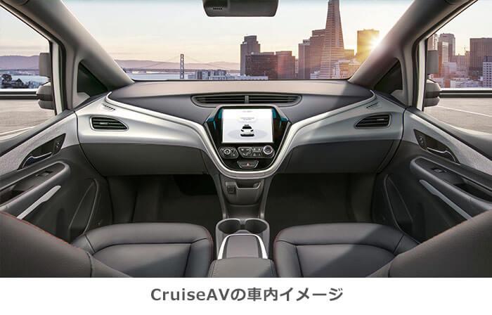 CruiseAVの車内イメージ画像
