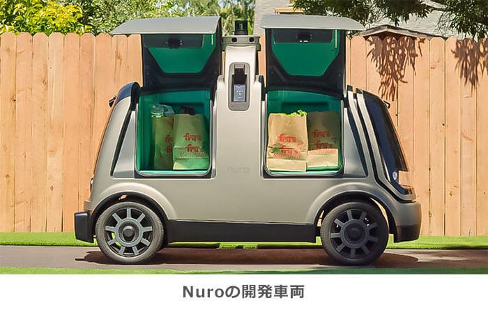 Nuroの開発車両のイメージ画像