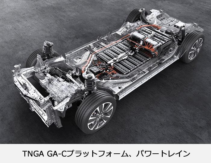 TNGA GA-Cぷらっとフォーム、パワートレインのイメージ画像