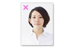 (悪い例)履歴書用写真の髪型・無造作ヘア