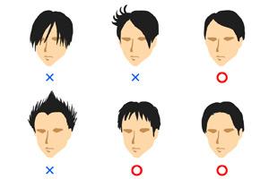 面接時の髪型