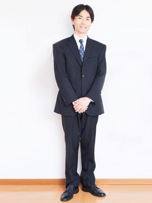 転職の面接の服装・スーツがぶかぶか