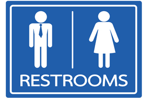 面接の前にトイレ