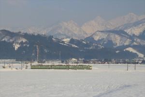 新潟の雪景色