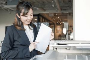 履歴書をコンビニで印刷する方法