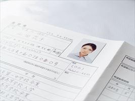 履歴書の写真の貼り方ガイド