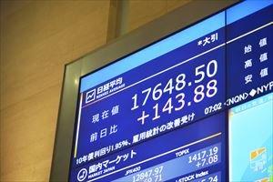 日本企業の時価総額ランキング