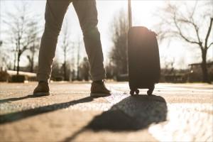旅へ出る人