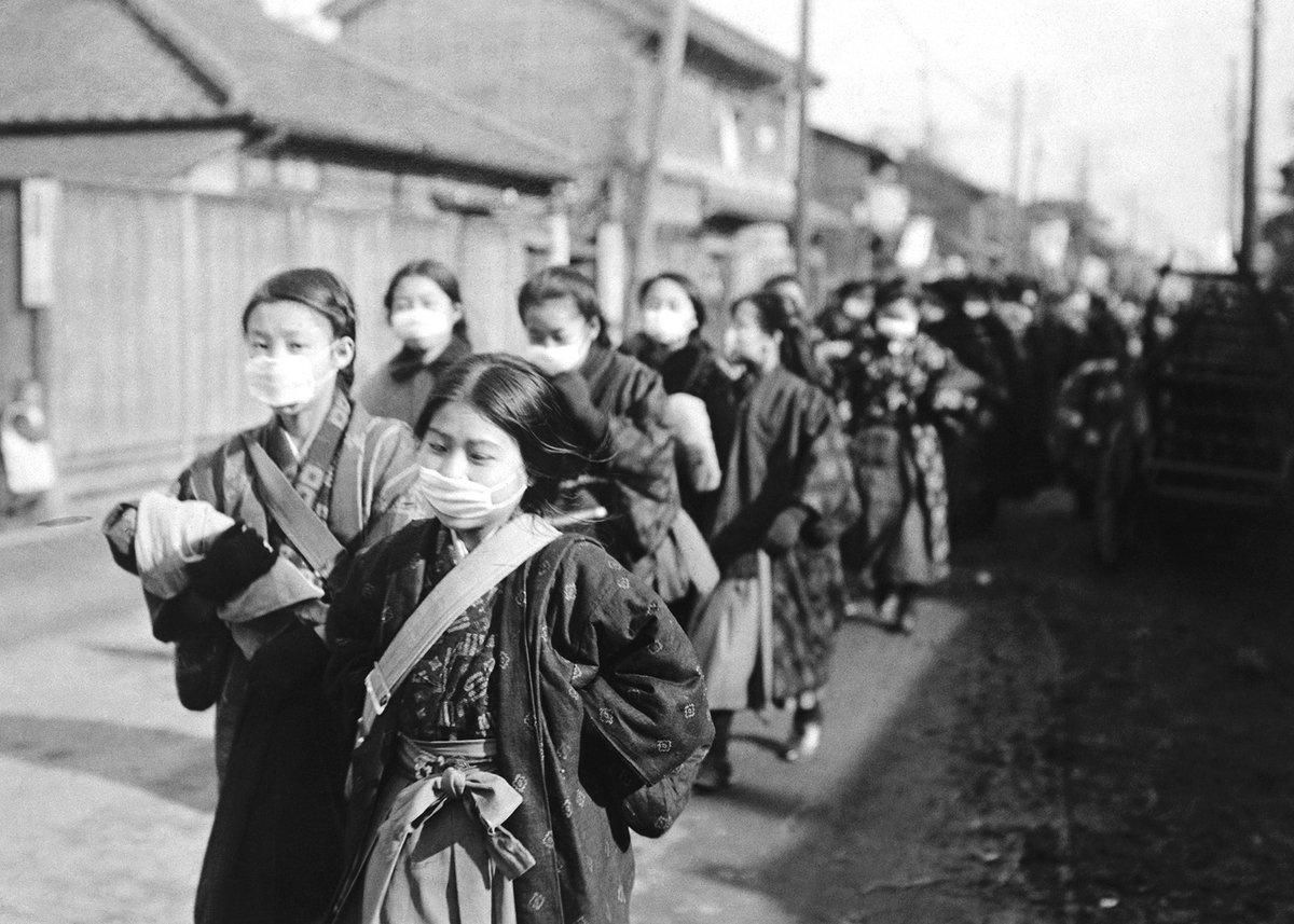 速報◆17日、スペイン風邪が日本中で蔓延しつつある