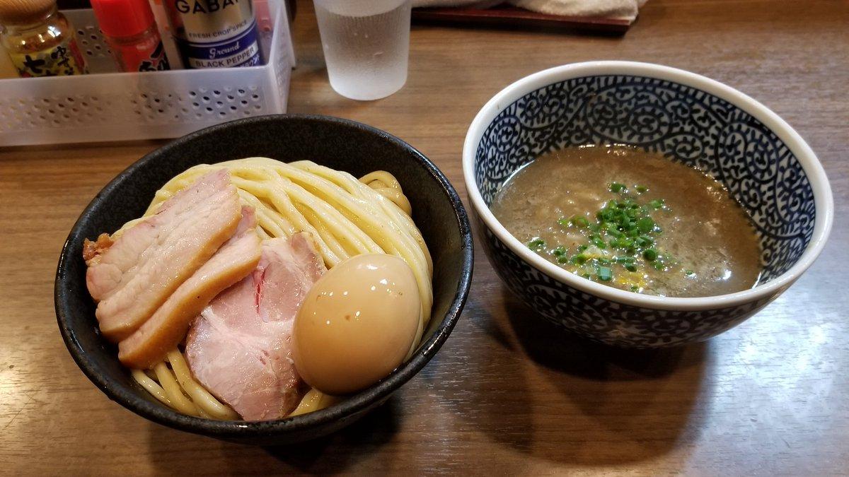 今年の私的ラーメン大賞は 東京蒲田つけ麺宮元に決定❗