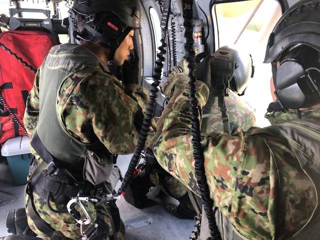 【九州南部豪雨に伴う災害派遣(第2報)】 第8師団は、逐次被災現場に到着し、救助活動を実施しています