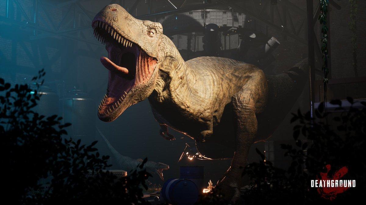 【ニュース】恐竜サバイバルホラーゲーム『Deathground』発表