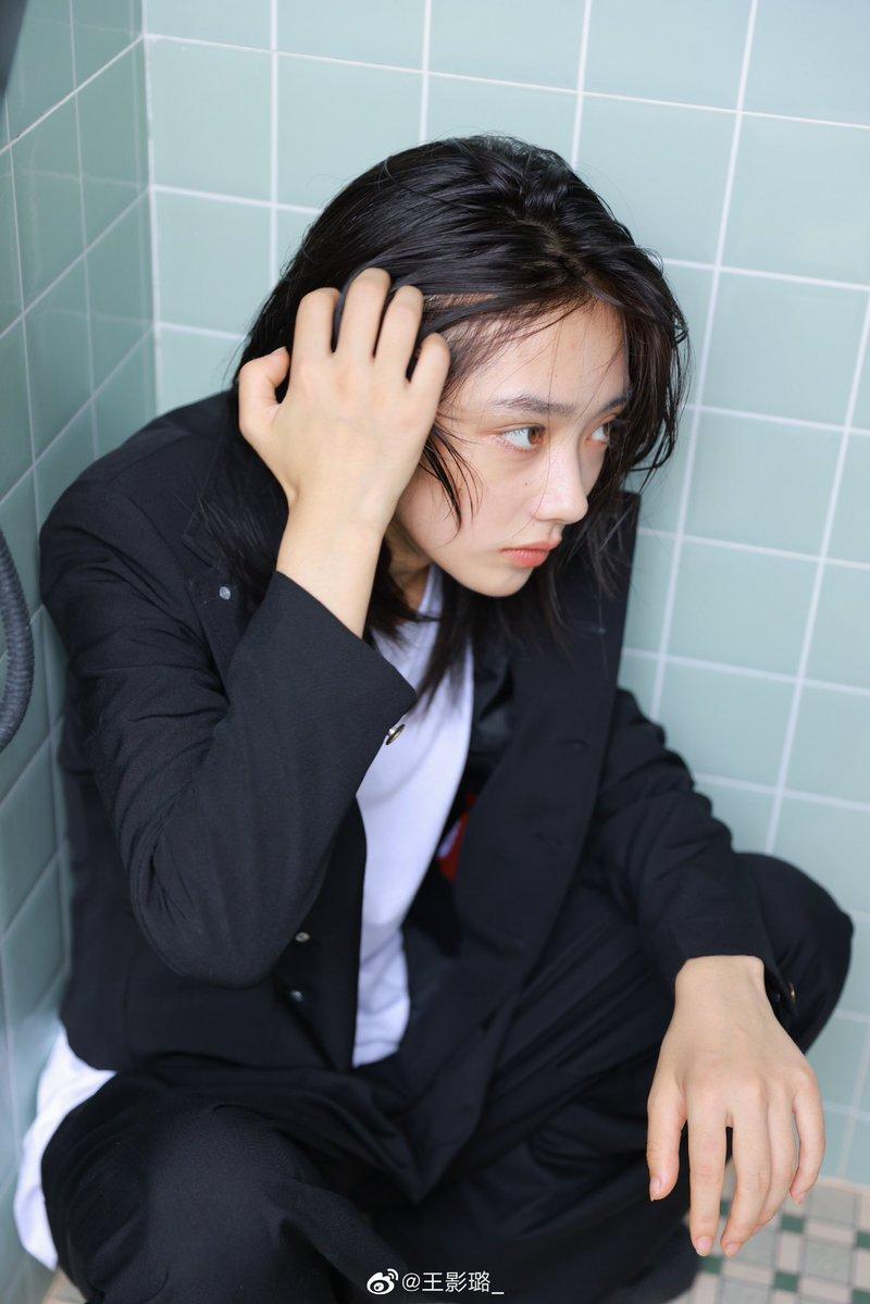 王影璐の学ラン写真バチくそ好みで泣いた