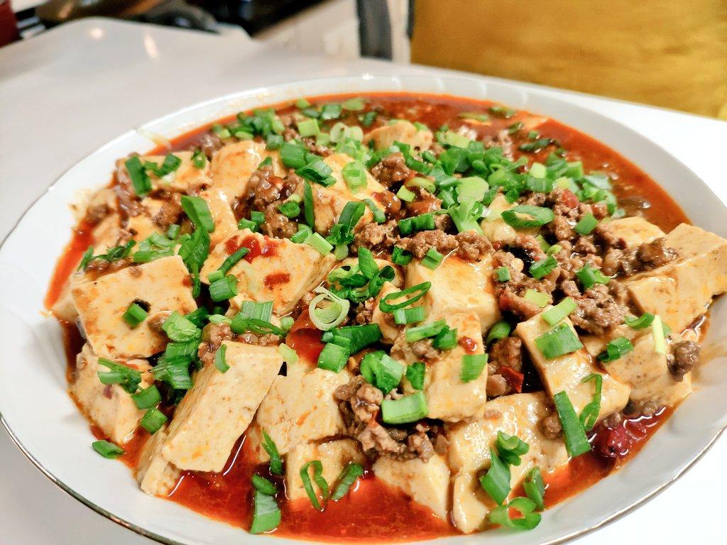 我が名はアルトゥル‼️日本で食べた麻婆豆腐が好きなラトビア人‼️今は日本へ行けなくて悲しい‼️だから自分で麻婆豆腐作った‼️ジョージアでは豆腐がないから大豆から手作りした‼️見てください、この立派な豆腐‼️そして美味そうな麻婆豆腐を‼️レトルトにだって負けない美味さだ‼️ぜひ我をお褒めくだされ‼️