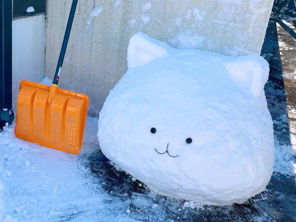 20歳児 本気の雪だるま #gochiusa