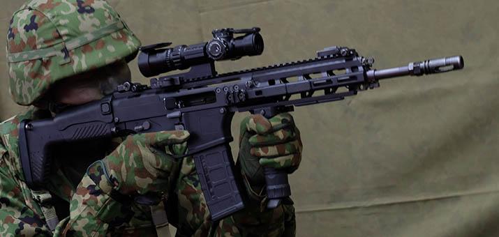 陸上自衛隊新小銃 20式(にーまるしき)小銃 初公開のレポート記事かきました(とりあえず速報的な内容)