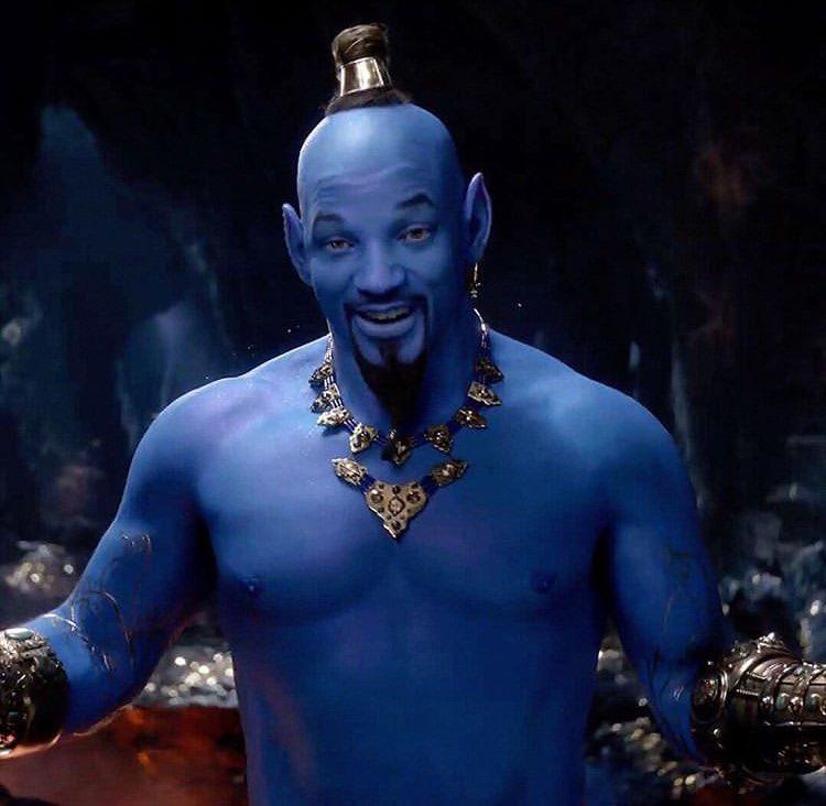 ちゃんと青くなるとは言ってたけど、ただのウィル・スミスの色違いじゃん