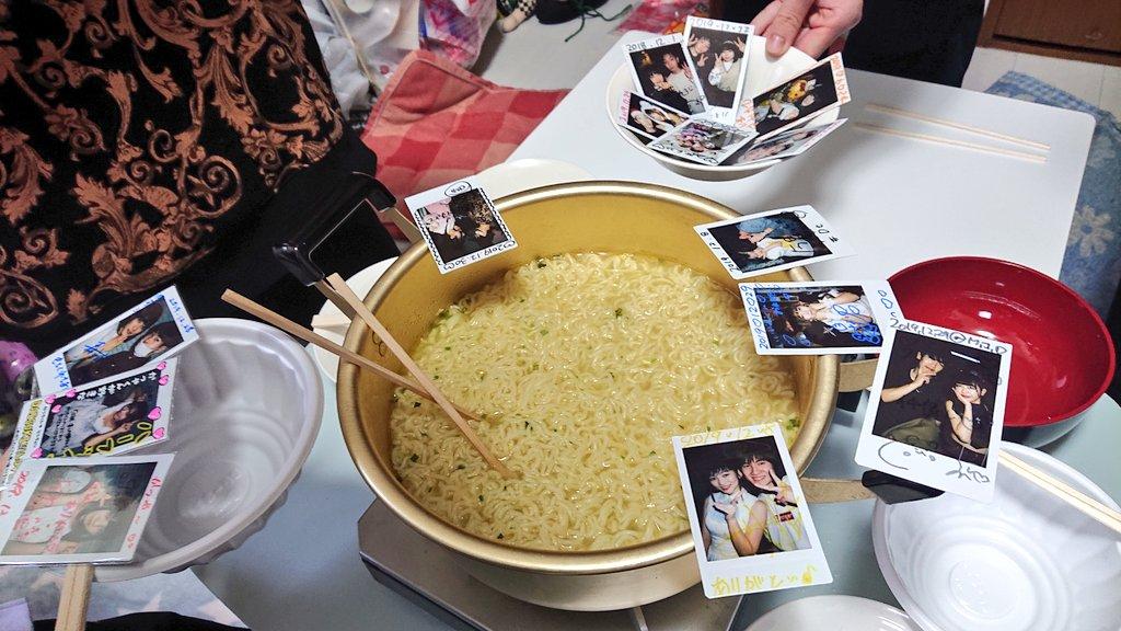 れいちぃ家で塩ラーメン  #ぷるfood