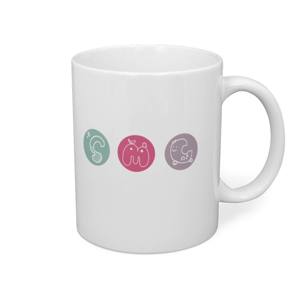 ……と、いう事でBOOTH様よりSMCのオリジナルマグカップが発売されます
