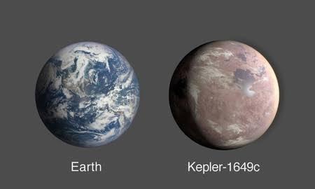 これまで見つかった系外惑星の中で、大きさと温度の双方で最も地球に近い条件